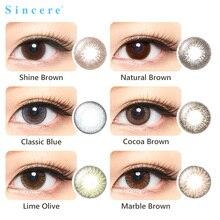 Душевное видение контактные линзы для глаз цвет ежемесячный бросок 1 объектив