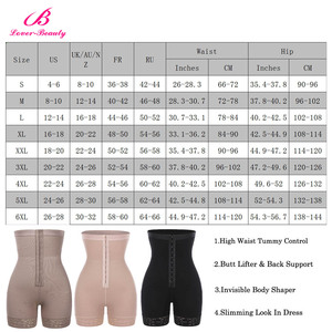Image 5 - Lover Beauty High Waist Control Panties for Belly Recovery Compression Butt Lifter Slimming Underwear Postpartum Girdle