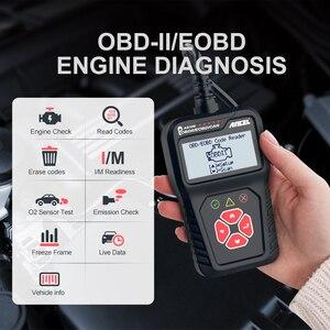 Image 2 - Ancel AS100 Obd2 سيارة أداة تشخيص OBD 2 السيارات الماسح الضوئي محرك محلل أداة رمز القارئ Obdii أداة مسح ضوئي PK ELM327 v1.5