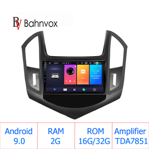 """9"""" android 9.0 RAM2G car gps dvd player for Chevrolet Cruze 2013 2014 2015 car radio multimedia navigation stereo head unit dsp(China)"""