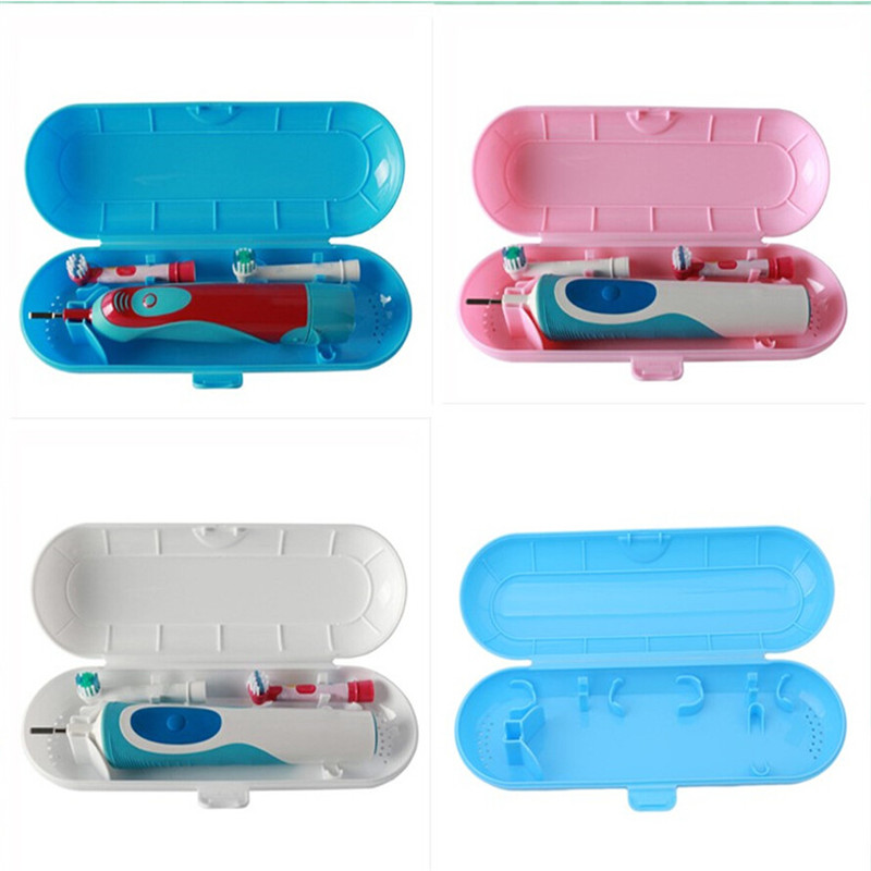 Useful 1PC Portable Toothbrush Holder Bathroom Accessories Electric Toothbrush Case Holder Travel Storage Box Toothbrush Case