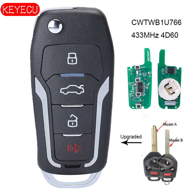 Discount Keyless Remote Entry Uncut Car Key Fob Replacement Case Shell Button Pad For Subaru WRX CWTWBU811