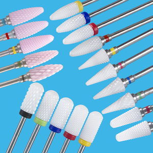 Milling Cutter for Manicure Nail Drill Bits Corundum Mill Cutters Pedicure Bit Nail Nozzles Removing Gel Varnish Accessories