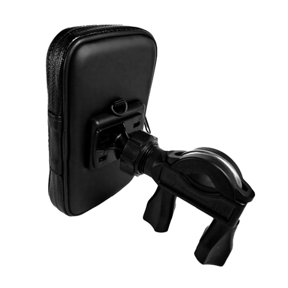 Besegad Waterproof <font><b>Bike</b></font> <font><b>Phone</b></font> <font><b>Holder</b></font> Motorcycle Bicycle Handlebar Stand Mount Bag Case for <font><b>Samsung</b></font> Galaxy S8 S8+ <font><b>S9</b></font> iPhone 6 7 image