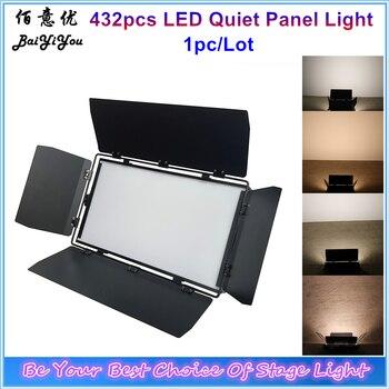 1 sztuk/partia 432 sztuk Panel ledowy lampa studyjna 200W CW WW 3200K 5600K cichy bez wentylatora lampa studyjna wideo Led kino światła