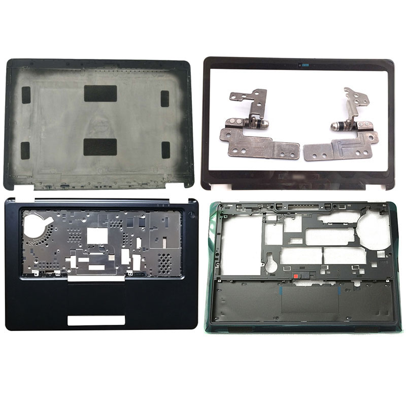 NEW Laptop LCD Back Cover/Front Bezel/Hinges/Palmrest/Bottom Case For Dell Latitude E7450 0VYTPN 0XNM5T 0GNRHX 0KN08C E Cover