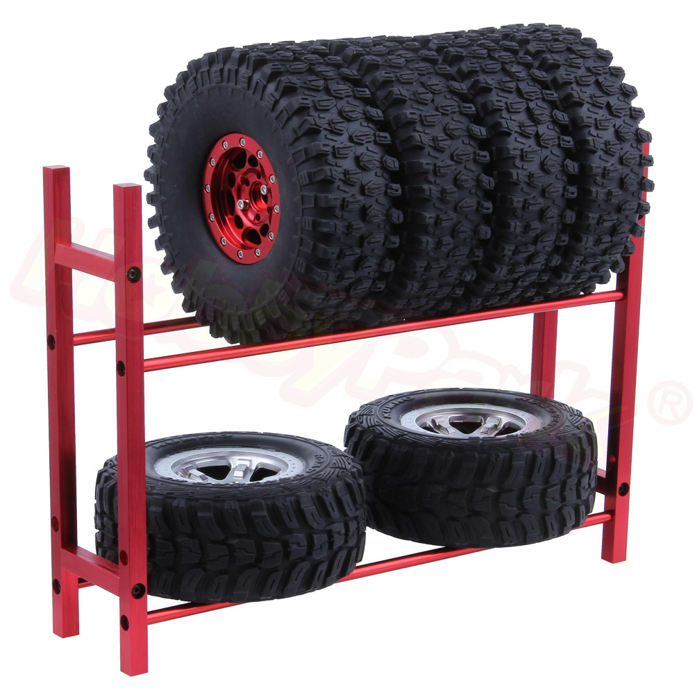 <font><b>RC</b></font> Tires Rack Storage Unit Organizer for 1/18 1/16 <font><b>1/12</b></font> 1/10 Scale <font><b>RC</b></font> <font><b>Wheels</b></font> Rock Crawler On Road Drift Off Road Buggy image