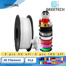 Geeetech filamento PLA de 1,75mm para impresora 3d, embalaje al vacío, almacenes en el extranjero, varios colores, 1kg