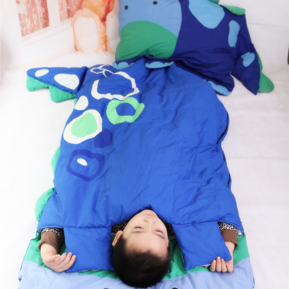 Toddler Sleeping Bag Cartoon Animals Cute Baby Holding Bag Thick Warm Sacks Bedding Baby Kids Infant Toddler Winter Sleep Bag