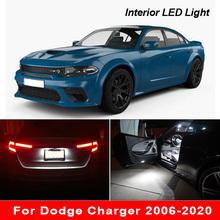 For Dodge Charger 2006 2020 Canbus Vehicle LED Interior Map Dome Trunk Door Light Bulbs Car Lighting Accessories