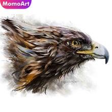 MomoArt Diamond Painting Owl Animal Embroidery Full Square/round Stones Mosaic Home Decoration