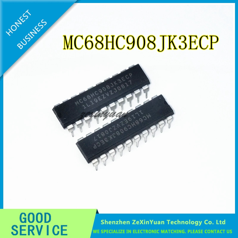10PCS/LOT MC68HC908JK3ECP MC68HC908JK3 DIP-20