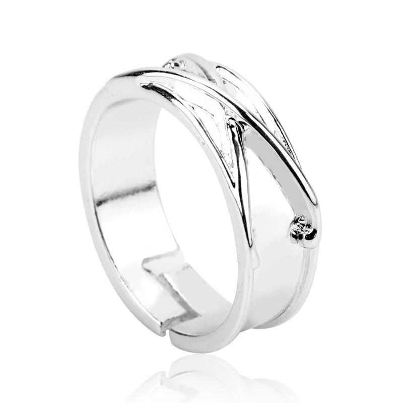 Черное кольцо Zamasu Goku в стиле аниме «Драконий жемчуг Z», регулируемое кольцо для мужчин и женщин, ювелирные изделия, подарки для косплея