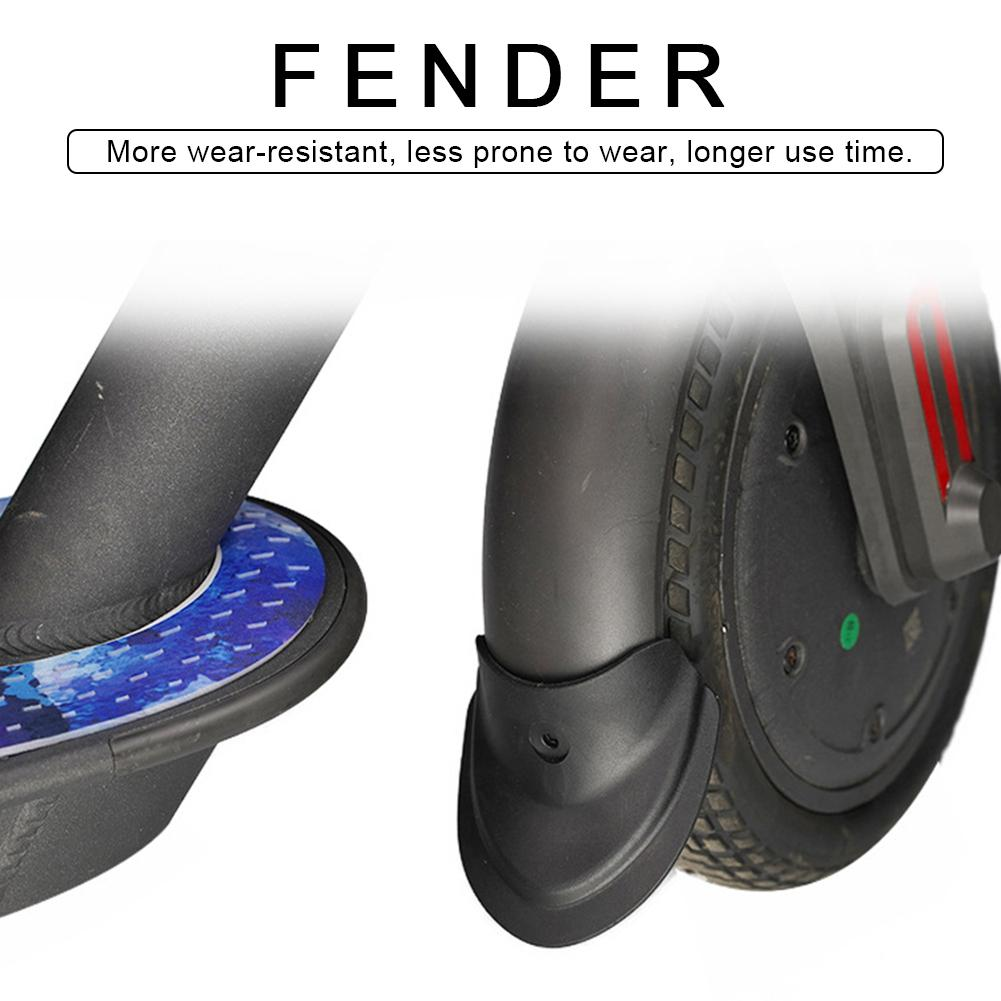 Xiaomi M365 Electric Scooter Accessories Rear Fender  Brake Pads Rubber Parts Light Fenders Rear