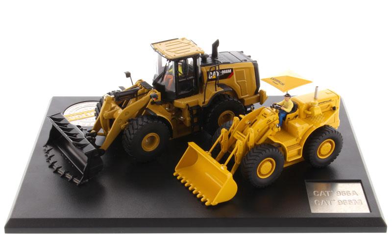 DM85558 1:50 Cat 966A Колесный погрузчик(Около 1960-1963) и гусеничный 966 м Колесный погрузчик(ток) игрушка