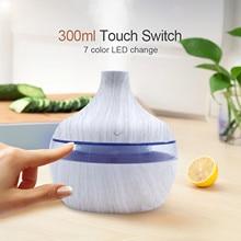 @ 300ml Air Aroma Essential Oil Diffuser Led Aroma Aromatherapy Humidifier Diffusore Oli Essenzi Led Aroma Aromatherapy #