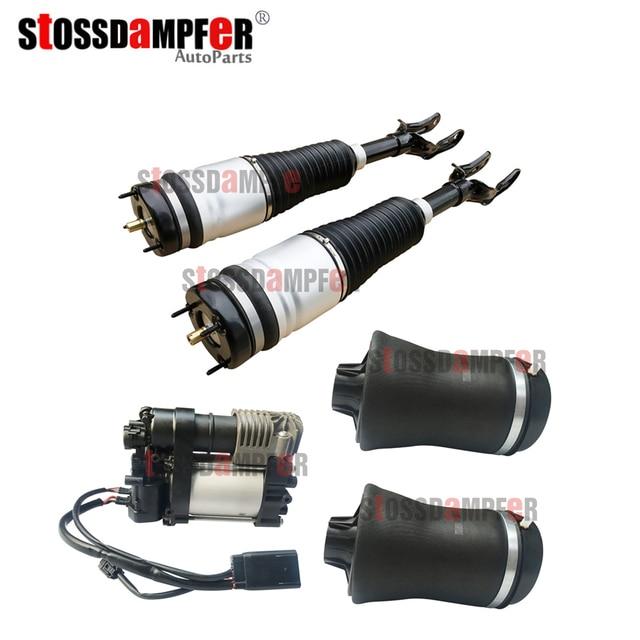StOSSDaMPFeR amortisseur avant ressort arrière pompe à Air adapté Jeep Grand Cherokee 68029912AE(12AC) 68029903AE(2AE) 68204730AC