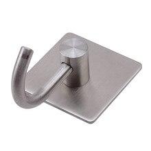 Высокое качество Бесшовные крепкие клейкие крючки из нержавеющей стали крепкие для ванной кухонные настенные крючки бытовые крючки для хранения