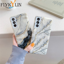 Luxury Marble Phone Case For Samsung Galaxy S21 Ultra A51 A71 s20 fe A50 A70 A20 A30 A31 A41 Note 20 Ultra 10Pro S10 9 S21 Plus