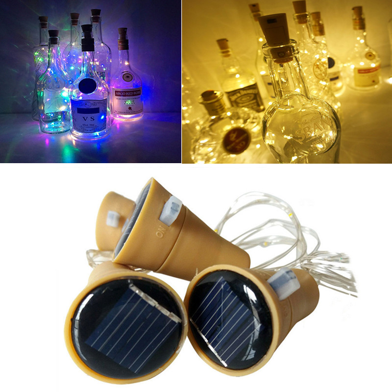 LED Solar Lamps Copper Wire Fairy String Patio Lights Waterproof Garden Christmas Wedding Party Decoration Outdoor