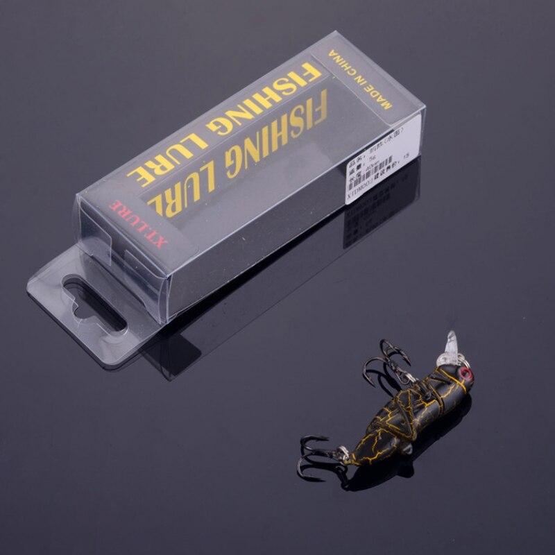 4g 5cm sauterelle appâts insectes leurres de pêche Wobblers manivelle appâts nagbait réaliste appâts en plastique dur matériel de pêche