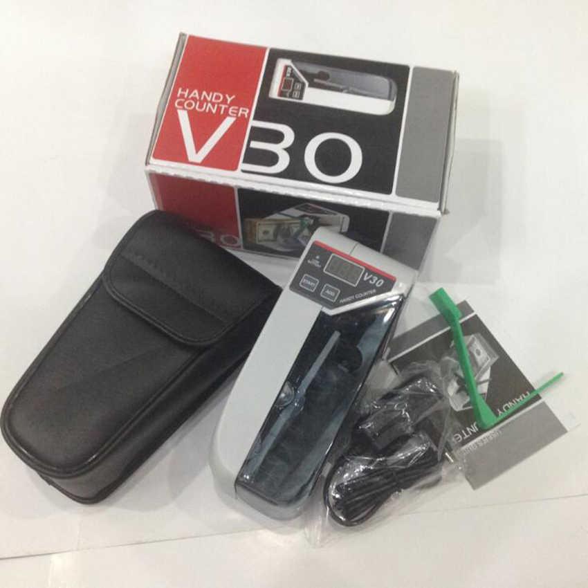 Mini Handy Bill Arus Alat Penghitung Uang Uang Mesin Hitung Uang AC atau Baterai Hitung Uang/Detektor untuk Toko