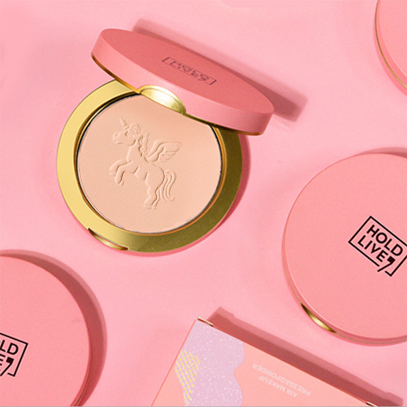 Air Makeup Pressed Powder Concealer Oil Control Service Set Makeup Powder Brighten Skin Tone Wet And Dry