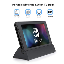 Vogek for Switch HDMI Charging Dock Station Type c to HDMI Video Adapter Conversion Charger Base Stand for Nintend Switch Host
