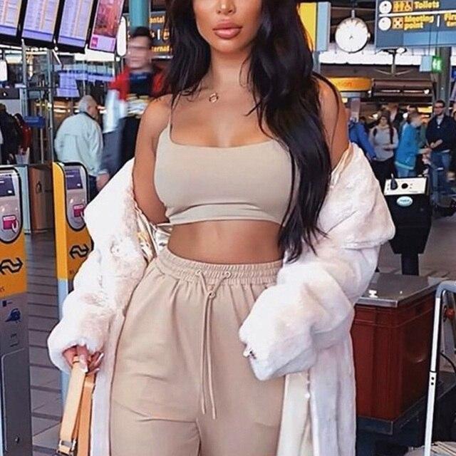 Womens Summer Camis Tanks Tops Sleeveless Cotton Bustier Unpadded Bandeau Bra Vest Crop Top Seamless Tees 4