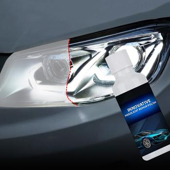 20ml reflektor samochodowy naprawa płynu scratch usuń remont powłoka utlenianie naprawa polerowanie światła samochodowe środek naprawczy TSLM1 tanie i dobre opinie CN (pochodzenie) Headlight Repair Refurbishment wholesale dropshipping