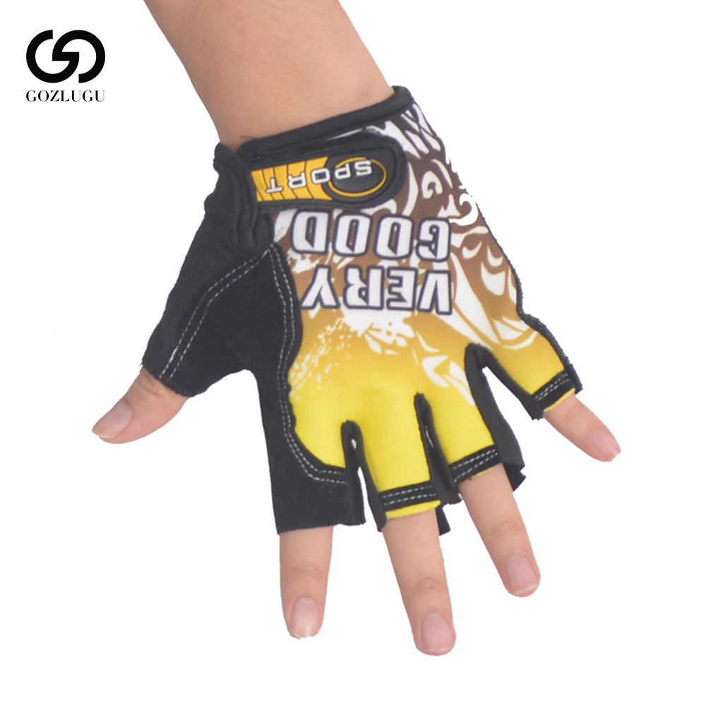 Sports Gloves Semi-finger Outdoor Mittens Very Good Letters Fingerless Gloves Gym Men Women