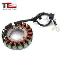 TCMOTO Motorcycle Generator Stator Coil Comp For Yamaha XVS1100 Drag Star 1100 2003/2005 2008 XVS 1100 V Star Classic 2004 2011