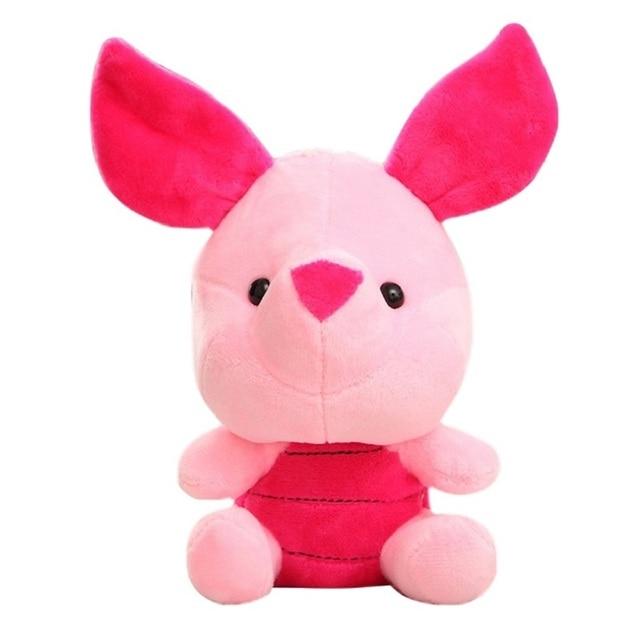 Disney 12-18cm Winnie the Pooh Bear Anime Cute Cartoon Plush Dolls Toys Keychain Pendant Kids Birthday Gift 4