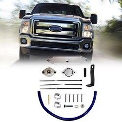 Zawór egr zestaw do rur silnika zestaw zaworu dla Ford F250 F350 F450 2011 2014 V8 6.7L Powerstroke ropa naftowa na
