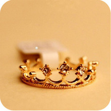 2019 New Fashion Rings My Princess Queen Crown Ring Design Wedding For Women Statement  Jewelry Party Gift Wholesale WD356