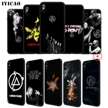 IYICAO Linkin Park Soft Phone Case for iPhone 11 Pro XR X XS Max 6 6S 7 8 Plus 5 5S SE Silicone TPU