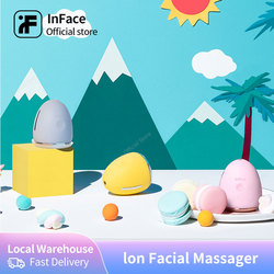 InFace Face Ion Facial Device Face Massager Skin Rejuvenation Tighten Lifting Relax Beauty Woman Skin Care Tools ION Therapy