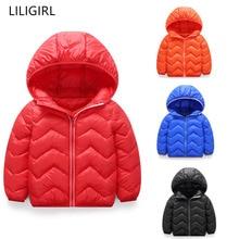 LILIGIRL Baby Girl Boy Clothes Jacket Winter Cotton Sport Outwear Children Cotton-padded Jacket for 1-6T Kids Winter Warm Coat все цены