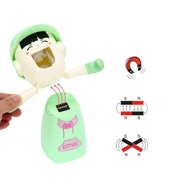 Купить детские держатели для зубных щеток с чашкой милые диспенсеры картинки цена