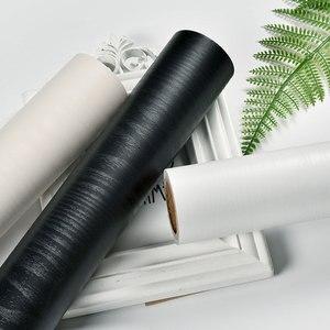 Image 4 - PVC עצמי דבק רהיטי טפט מדבקות עמיד למים מטבח ארונות ארון דלת עץ דקורטיבי בואינג סרט