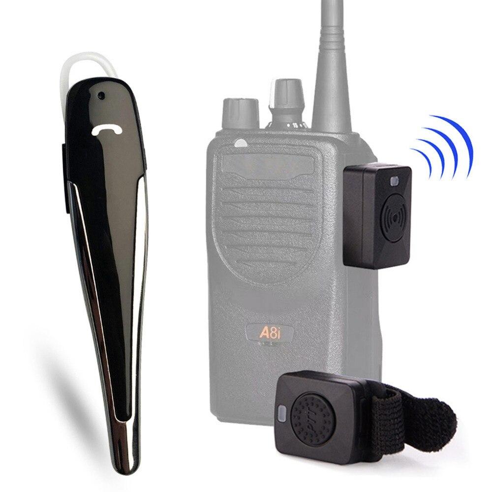 Hands-free Bluetooth Headset Walkie Talkie M Type Wireless Bluetooth Motorcycle Hf Ptt Earphone For Motorola Gp88 A81