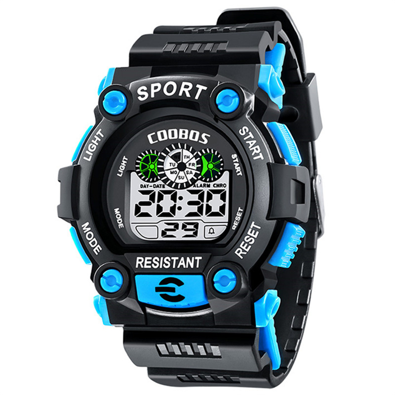 Children Sports Watch Waterproof Digital Watch For Kids Alarm LED Back Light Boys Baby Girls Wrist Watches New Relogio Infantil