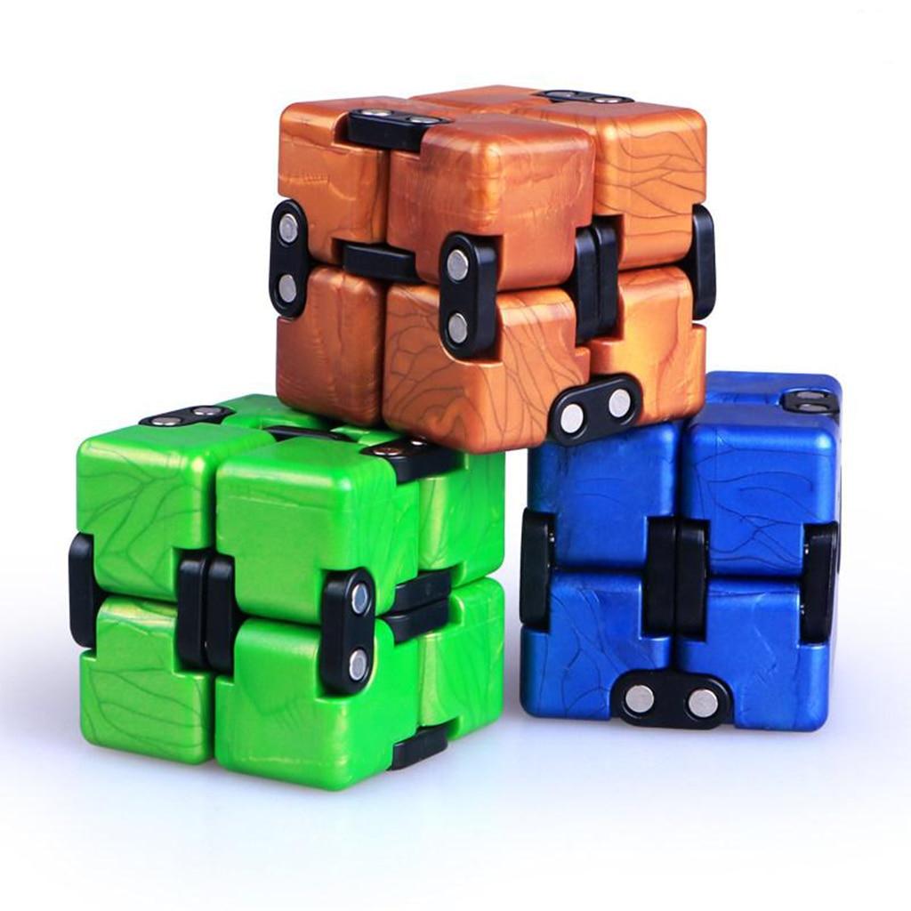 Magic Cube Puzzle Speed Children Educational Twist Toys Brain Trainer Fidget