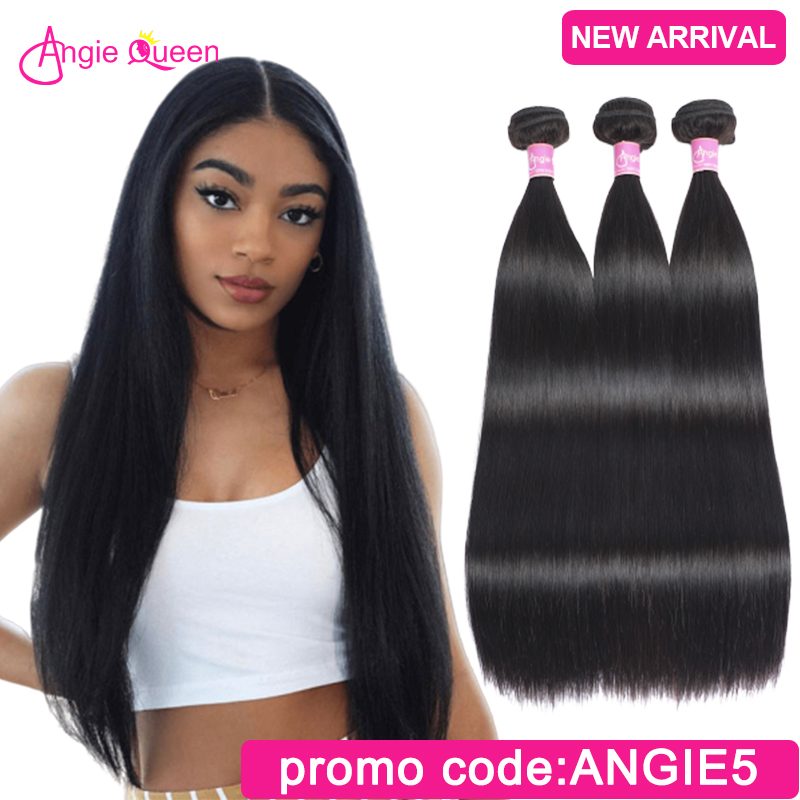 Straight Hair Bundles Indian Remy Hair Bundles Weaves 100% Human Hair Bundles Weft 1 Bundles Straight 14 16 18 20 22 24 26 Inch