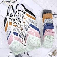 Jerrinut sutiã feminino e calcinha definir push up sutiãs para mulher conjunto sem costura bralette acolchoado roupa interior conforto sutiã sem fio