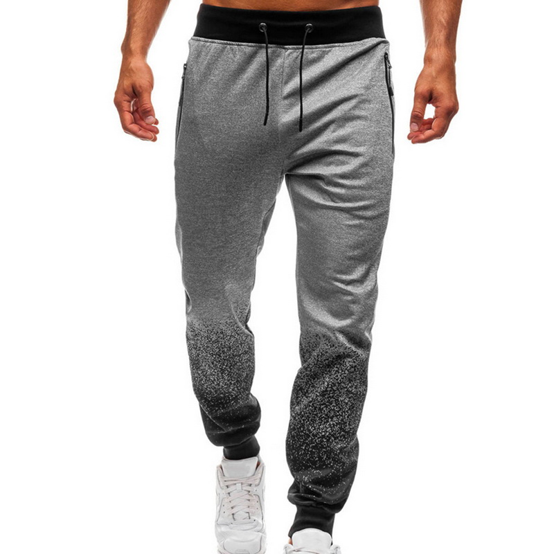 2019 Men Sweatpants Long Joggers Running Pants Fashion Track Outwear Training Trousers Fitness Sweatpants Casual Gym Pants