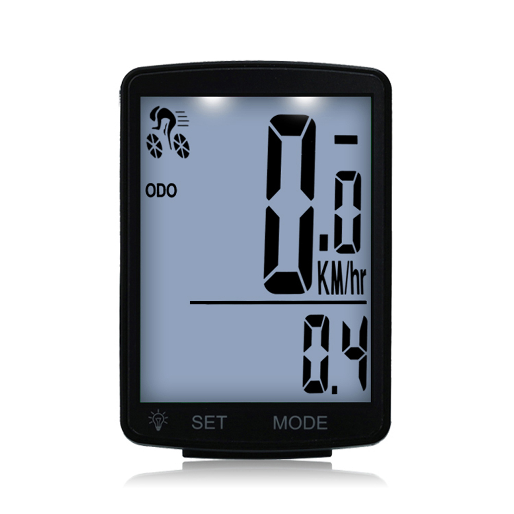 Digital Wired Screen Bicycle Speedometer Wireless Speed Cadence Sensor BG
