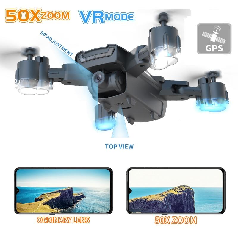 LAUMOX G11 GPS RC Drone 4K HD Kamera Optischen Fluss WIFI FPV 50 Mal Zoom RC Quadcopter Folgen mich faltbare Professionelle Drohnen