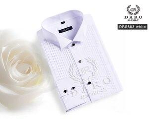 Image 4 - DARO חולצה לבן טוקסידו חולצה מסיבת חתונה חולצה 2020 חדש הולם חולצה 883