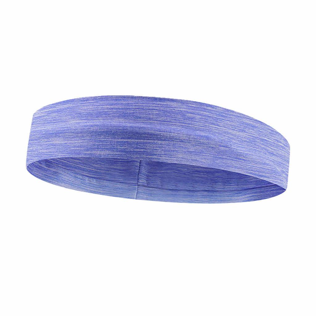 1PC elástica absorbente sudor bandas Yoga Fitness diadema deportes bandas para el cabello de gimnasio-cabello de Brace Z1008